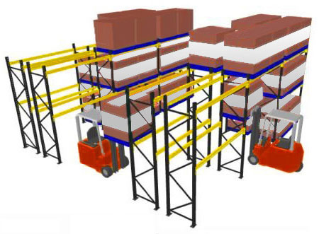 Heavy Duty Rack - Selective Racking System